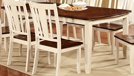 B073VY4NRZ✅William's Home Furnishing CM3326WC-T Dover Dining Table, White
