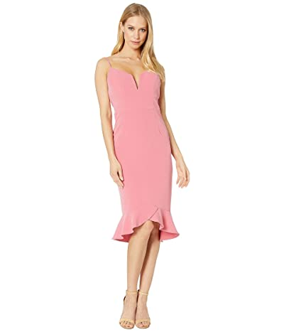 Bardot Kristen Peplum Dress (Melon) Women