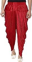 ROYAL Kurta Men's Velvet Ready to Wear Free Size Harem Dhoti for Kurta/Sherwani
