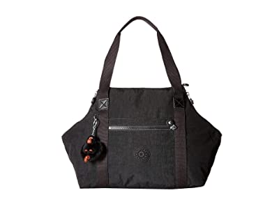 Kipling Art Satchel (Black) Satchel Handbags