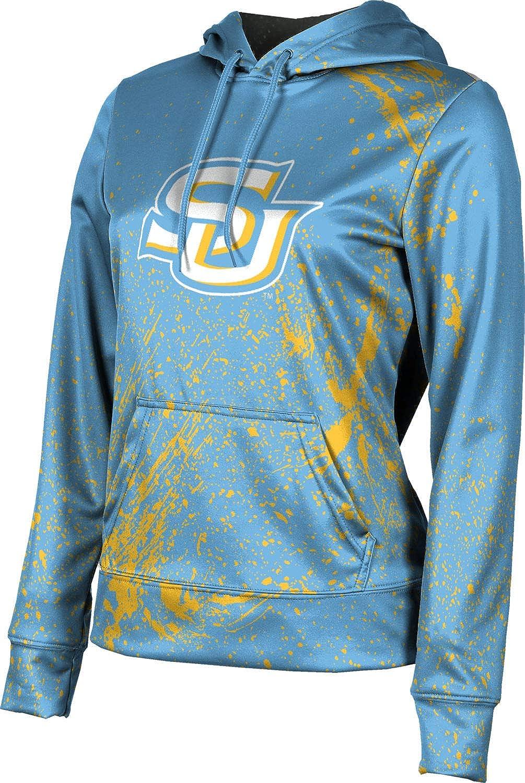 ProSphere Southern University Girls' Pullover Hoodie, School Spirit Sweatshirt (Splatter)