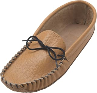 Lambland Men's Leather & Suede Earthing Moccasins