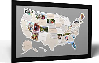 50 States USA Photo Map