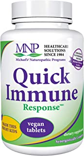 Michael's Naturopathic Programs Quick Immune Support - 120 Vegan Tablets - Immune System Support Supplement with Vitamin A...