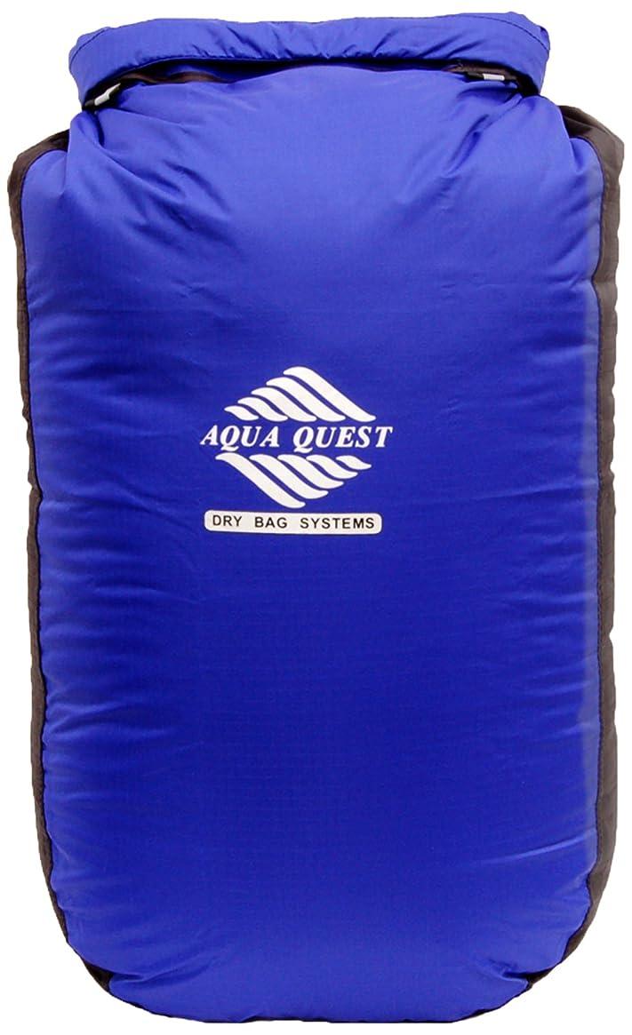 Aqua Quest Glacier Dry Bag - 100% Waterproof Dry Bag 5L, 10L, 20L, 30L, 45L Blue Floating Drybag with Roll Top Closure