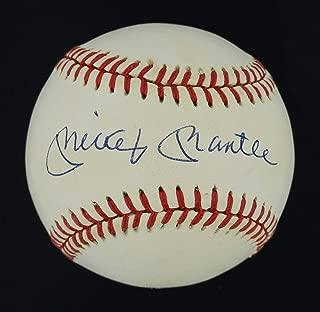 Autographed Mickey Mantle Ball - Fine OAL LOA #BB03689 - JSA Certified - Autographed Baseballs