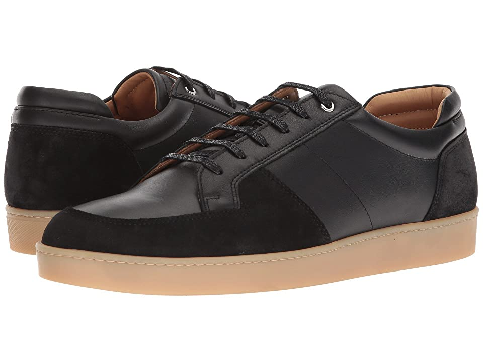 WANT Les Essentiels Lydd Gum Sole Sneaker (Black/Black Suede) Men