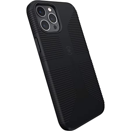Speck Products CandyShell Pro Grip iPhone 12 Pro Max Case, Black/Black (137609-1050)