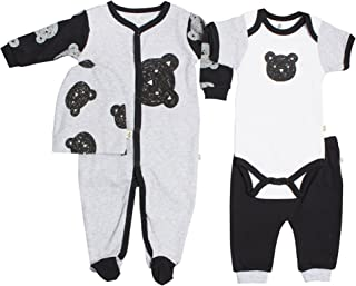 Raccoon Snugabye 2 Receiving Blankets /& Beanie Set Packaged as a Giftable Item