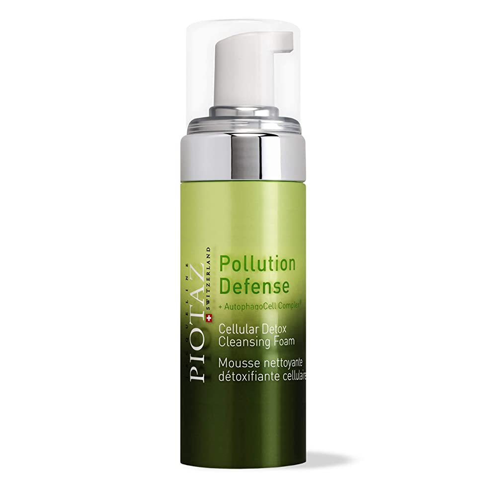 Jacqueline Piotaz The CellDetox Cleansing Foam, Hydrating Cleanser Detoxifies, Removes Makeup and Pollution