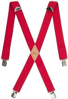 mens santa pants with suspenders