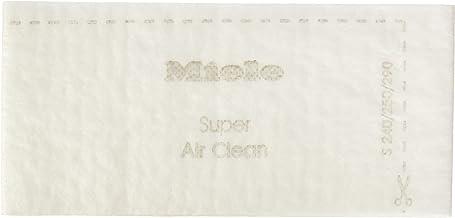 Miele Filtro AirClean, Air Clean Filters, Blanco