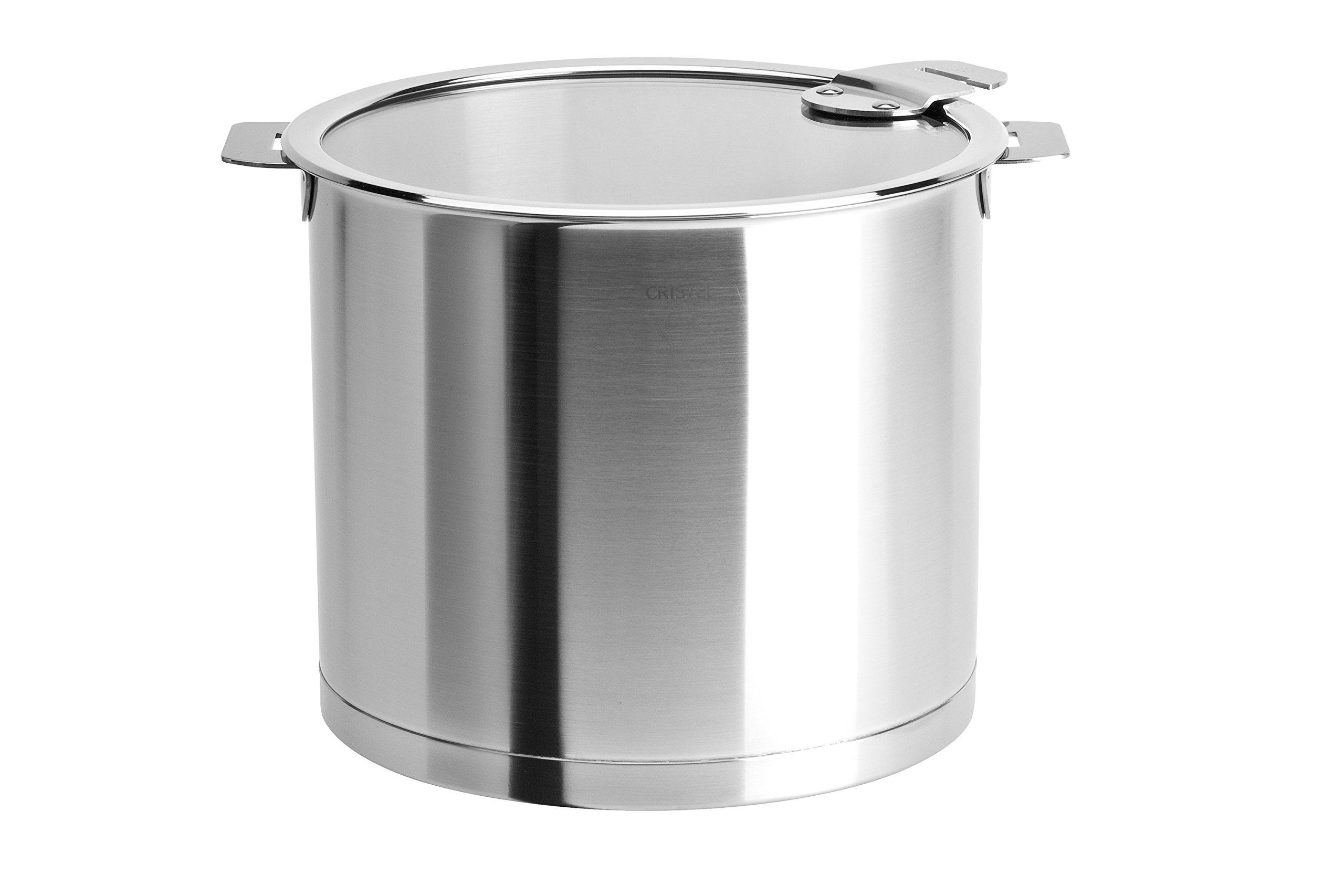 Cristel Strate M20QLKSA Stockpot Silver