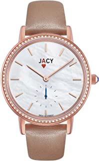 Womens Luxury Diamond Watch - Swiss Quartz Watch with Real Diamonds - Rose Gold