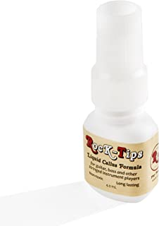 Rock-Tips – Liquid Callus Formula – For Guitar, Bass, and Other Stringed Instruments – 4.0 mL