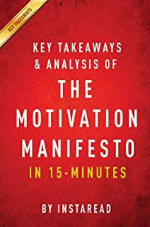 Summary of The Motivation Manifesto: by Brendon Burchard | Includes Analysis (English Edition)