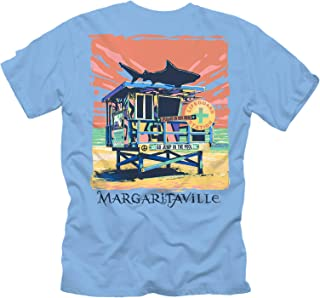 Margaritaville Men's Lifeguard Station Graphic Short Sleeve T-Shirt