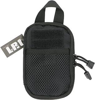 LefRight Mini Tactical Molle EDC Compact Pocket Organizer Pouch (Black, S) (Black)