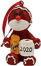 cuffslee 2020 juldekoration djurdekorationer Bär masker och toalettpapper håller vackra och otroligt hängande ornament per...