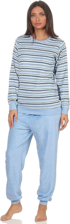 EFOFEI Femme Pyjama Ensemble D/écontract/ée No/ël Ray/é Haut et Bas V/êtement dInt/érieur T-Shirt Plaid Pantalons Longue Col Rond