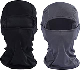 [2-Pack] Wind-Resistant Balaclava Ski Mask Face Mask Motorcycle Tactical Balaclava Hood