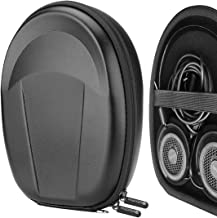 Geekria UltraShell Headphone Carrying Case for Grado SR325e, SR80, SR80e, SR80i, SR60, SR60i, SR60e, Grado RS2, RS1, RS2i, RS1i, RS2e, RS1e - Protective Hard Shell Headset Travel Bag (Lichee Pattern)