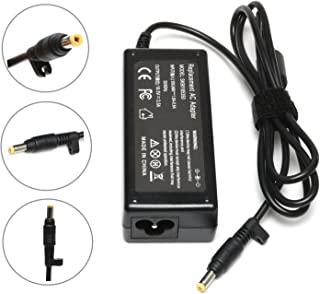 65W New AC Adapter Laptop Charger for HP Pavilion DV1000 DV1200 DV2000 DV4000 DV5000 DV6000 DV6500 DV6700 DV8000 DV9000 DV9500 X1300;HP COMPAQ 500 510 511 515 520 530 610 Power Supply Cord(4.8mm1.7mm)