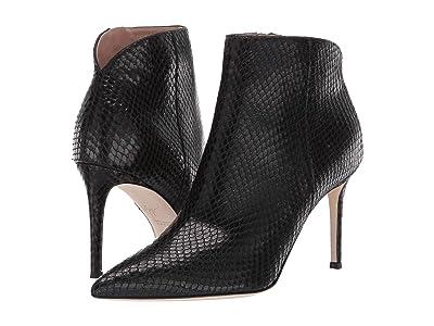 Giuseppe Zanotti Tysha Reptile Ankle Boot (Mimas/Athema Nero) Women