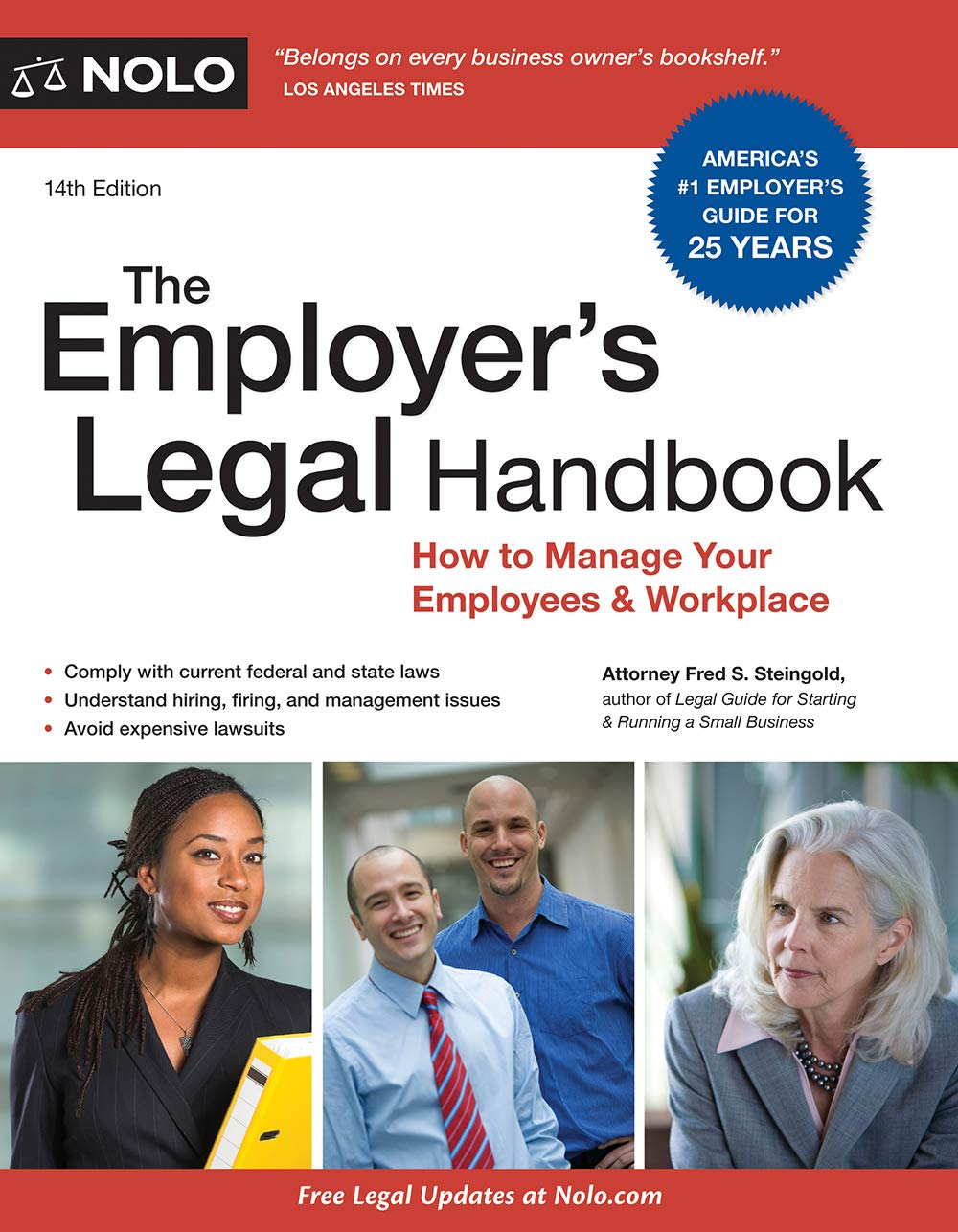 Download Employer's Legal Handbook, The: How To Manage Your Employees & Workplace 