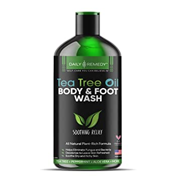 FineVine Organics Antifungal Tea Tree Oil Body Wash