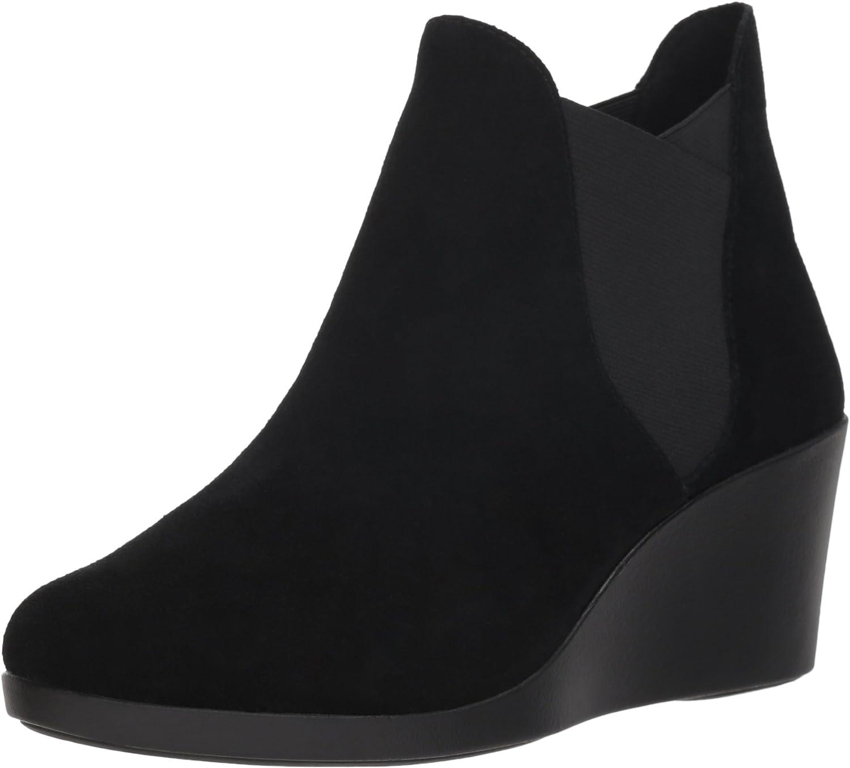 Crocs Women's Leigh Wedge Chelsea W Rain Boot