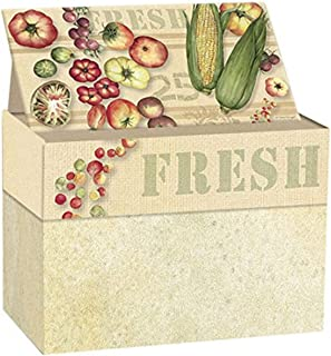 Lang Fresh From The Farm Recipe Card Box by Susan Winget (2011085)