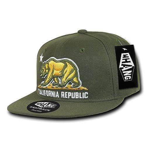 WHANG California Snapbacks