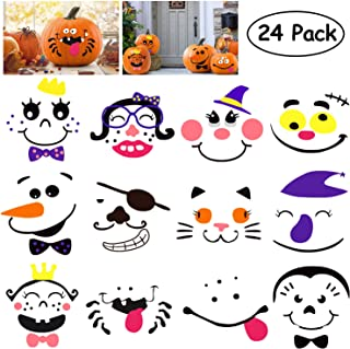 foam pumpkin decorating ideas