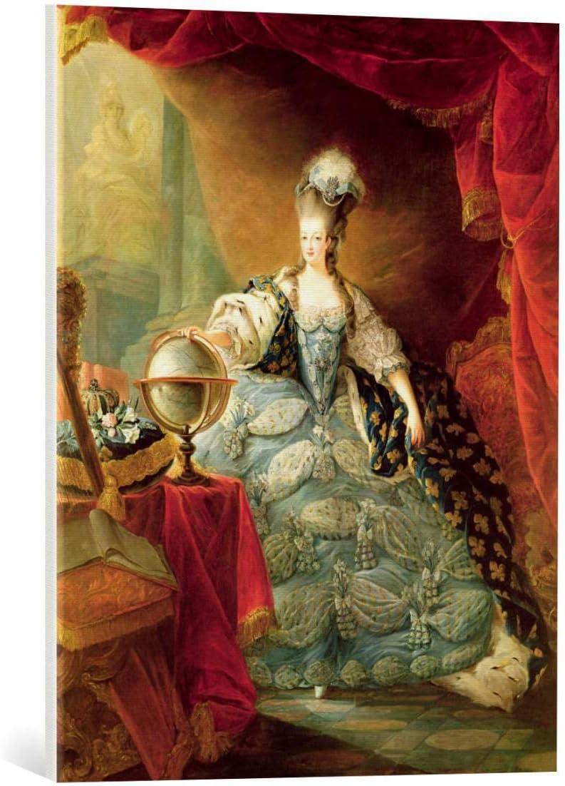 Canvas Print: Jacques-Fabien Gautier d'Agoty Marie Rapid rise of A Portrait Max 56% OFF