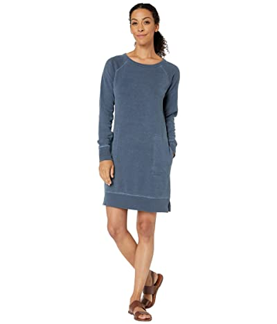Toad&Co Epique Long Sleeve Dress (True Navy) Women