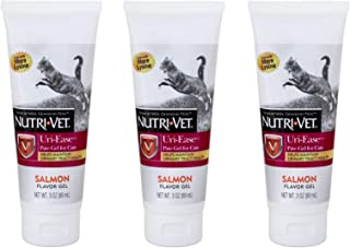Nutri-Vet 3 Pack of Uri-Ease Paw-Gel for Cats, 3 Ounces Each, Helps Maintain Urinary Tract Health