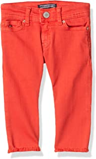 Tommy Hilfiger Pant For Girls, Orange, 12 Months, SSLCOKELIS4\26-AQ