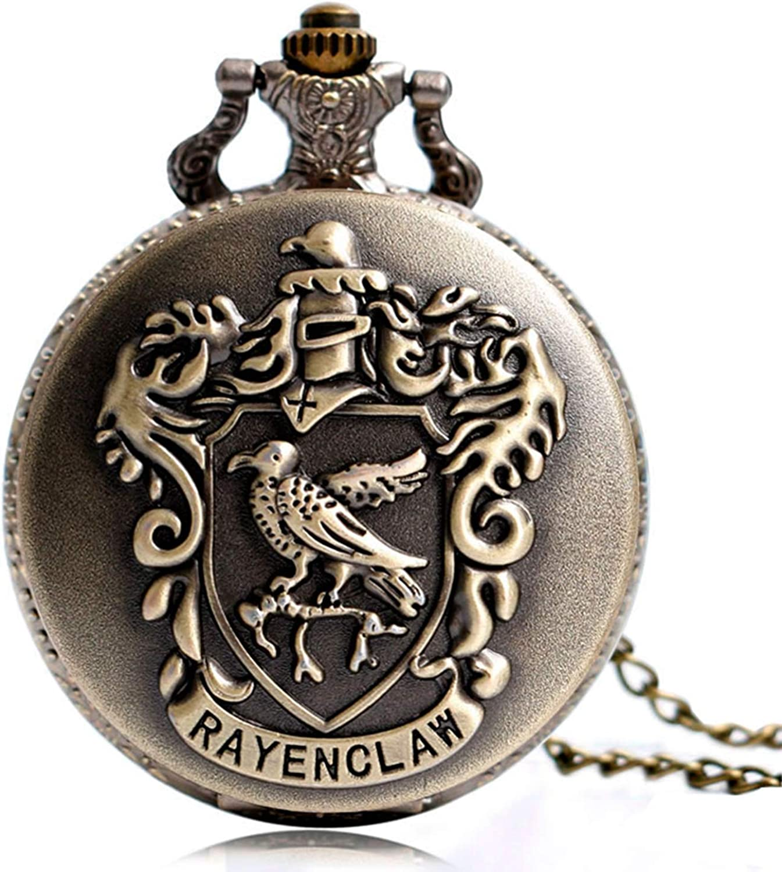 Classic HP Hogwarts Pattern 2021 model Quartz Pocket Watch for Girl Finally popular brand Boy Men