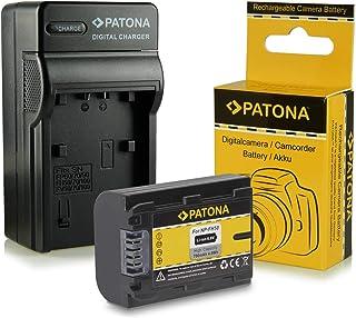 Cargador + Batería NP-FH50 para Sony CyberShot DSC-HX1 | DSC-HX100V | DSC-HX200V - DSLR Alpha 230 DSLR-A230 | 330 DSLR-A330 | 380 DSLR-A380 | 390 DSLR-A390 - Camcorder DCR-DVD Series | DCR-HC Series y mucho más…
