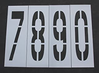 Best parking lot number signs Reviews