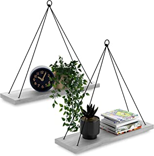 Swing Rope Wall Shelf