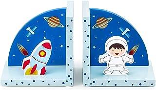 Mousehouse Gifts - Sujetalibros infantiles 3D - Madera - Temática espacial