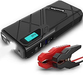 Imazing Portable Car Jump Starter - 1500A Peak 12000mAH (Up to 8L Gas or 6L Diesel Engine) 12V Auto Battery Booster Portable Power Pack with Smart Jumper Cables, IM23