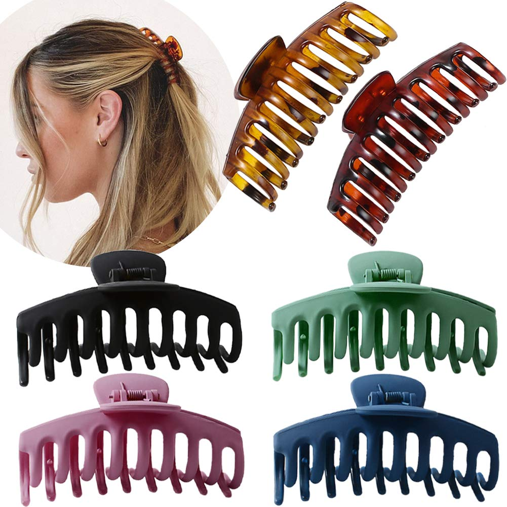 Seattle Mall Large Hair Claw Clip for Women Jumbo 4.3″ Stro Clips - Superlatite