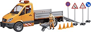 Bruder 02537 MB Sprinter Municipal with L&S Module, Worker + Accessories Vehicles - Toys