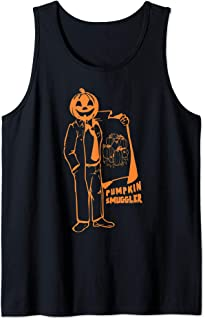 Pumpkin Smuggler Funny Halloween Costume Pregnancy Gift Tank Top