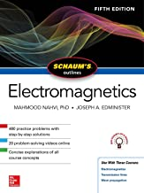 Best schaum's outline of electromagnetics Reviews