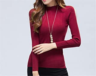 Byetell Fashion NEW Hot! Spring and Autumn Fashion Women long-sleeved sweater Slim women knitwear