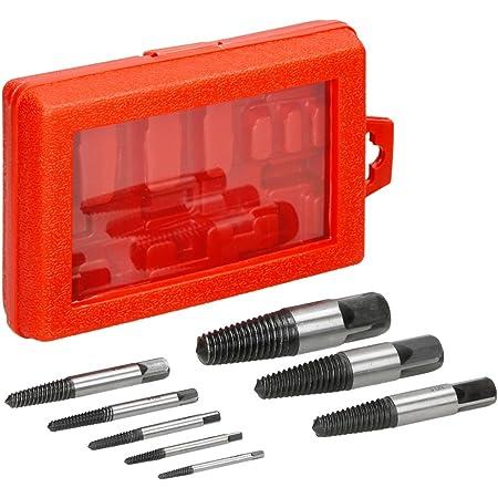 1//2in Extractor de tornillos manual Extractor de tornillos da/ñados de tuber/ía rota de acero CR-V Multifuncional con fuerza fuerte Fuerza de garra fuerte